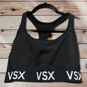 Victoria's Secret VSX Black & White Sports Bra-M